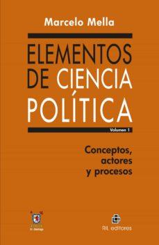 ELEMENTOS DE CIENCIA POLÍTICA. VOL. 1 EBOOK