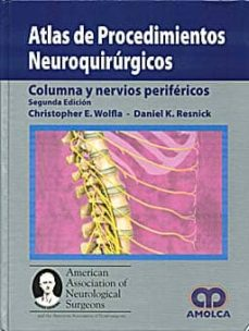 Libros descargando ipod ATLAS DE PROCEDIMIENTOS NEUROQUIRURGICOS: COLUMNA Y NERVIOS PERIF ERICOS (2ª ED)