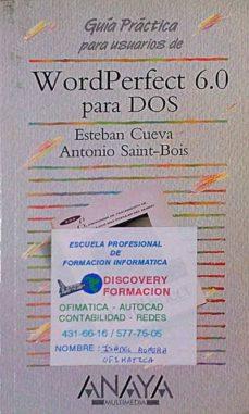Titantitan.mx Guía Práctica Para Usuarios De Wordperfect 6.0 Para Dos Image