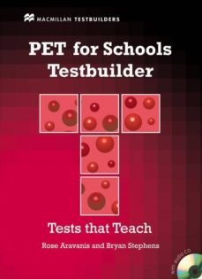 Epub ebooks para ipad descargar PET FOR SCHOOLS TESTBUILDER PACK (Literatura española) 9780230407121  de