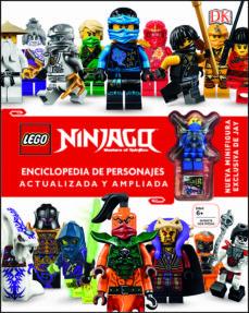 Lego Ninjago Enciclopedia De Personajes Actualizada Y Ampliada Vv