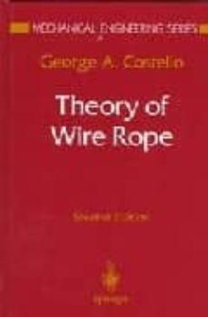 Descargar THEORY OF WIRE ROPE gratis pdf - leer online