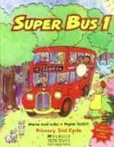 Mrnice.mx Super Bus 1 (Primary 2nd Cycle) (Libro + 2 Cd) Image