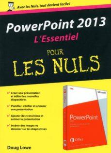 powerpoint 2013 essentiel pour les nuls (ebook)-doug lowe-9782754069021