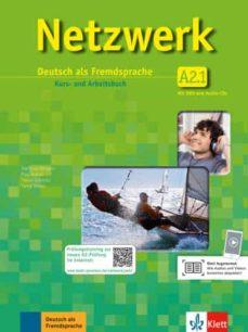 Descargar libros en formatos epub. NETZWERK A2-1 ALUMNO+EJERCICIOS+2CD+DVD de  PDF en español 9783126061421