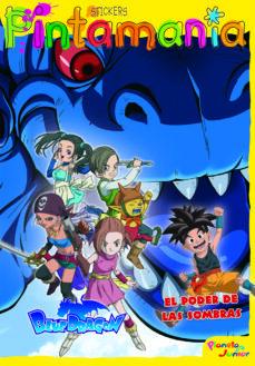 Eldeportedealbacete.es Blue Dragon: Libro De Adhesivos: El Poder De Las Sombras Image