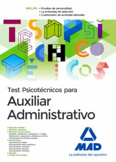 Curiouscongress.es Test Psicotecnicos Para Auxiliar Administrativo Image