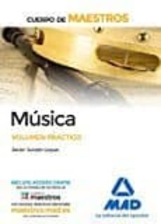 maestros musica. volumen practico-9788414203521