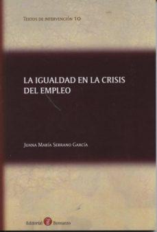 Padella.mx Igualdad En La Crisis Del Empleo Image