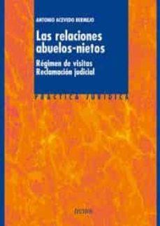 Descargar LAS RELACIONES ABUELOS-NIETOS: REGIMEN DE VISITAS, RECLAMACION JU DICIAL gratis pdf - leer online