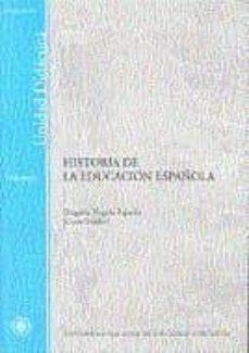 Encuentroelemadrid.es Historia De La Educacion Española (Unidad Didactica) Image