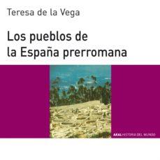 los pueblos de la españa prerromana-teresa de la vega menocal-9788446006121