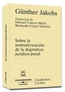 Titantitan.mx Sobre La Normativizacion De La Dogmatica Juridico-penal Image