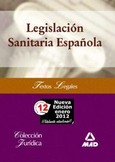 legislacion sanitaria española-9788467600421