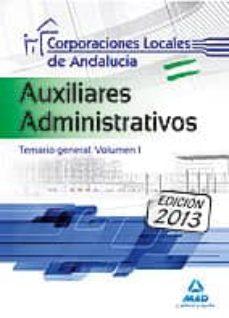 Upgrade6a.es Auxiliares Administrativos De Corporaciones Locales De Andalucía. Temario General. Volumen I Image