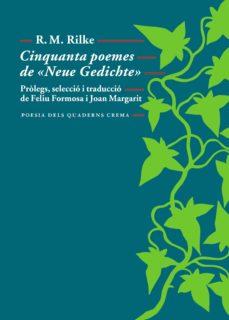 cinquanta poemes de «neue gedichte» (ebook)-rainer maria rilke-9788477275121