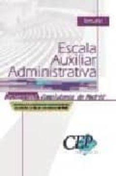 Yumara.it Temario Oposiciones Escala Auxiliar Administrativa Universidad Co Mplutense De Madrid Image
