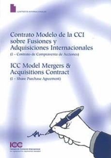 Emprende2020.es Contrato Modelo De La Cci Sobre Fusiones Y Adquisiciones Internacionales: (I-contrato De Compraventa De Acciones) Image
