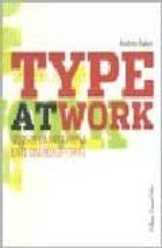 Inmaswan.es Type At Work: Usos De La Tipografia En El Diseño Editorial Image