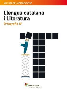 Lofficielhommes.es Quadern Ortografia 4º Secundaria Catala Ed 2015 Image