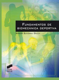 Descargar libros electrónicos en español FUNDAMENTOS DE BIOMECÁNICA DEPORTIVA