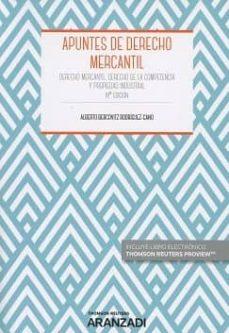 apuntes de derecho mercantil (duo) 18ª ed. 2017-alberto bercovitz rodriguez-cano-9788491771821