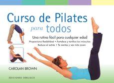 curso de pilates para todos-carolan brown-9788497777421