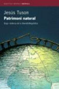 patrimoni natural-jesus tuson-9788497870221