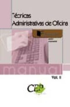 Valentifaineros20015.es Tecnicas Administrativas De Oficina Vol.ii. Formacion Image