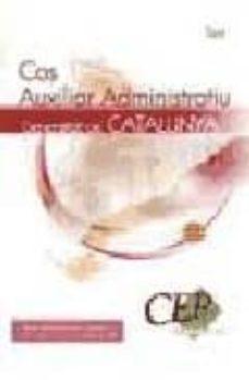 Emprende2020.es Test Cos Auxiliar Administratiu Generalitat De Catalunya Image