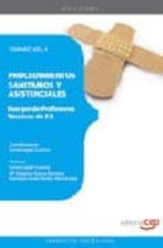 Mrnice.mx Cuerpo De Profesores Tecnicos De F.p. Procedimientos Sanitarios Y Y Asistenciales: Temario Vol. Ii Image