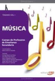 Cronouno.es Cuerpo De Profesores De Enseñanza Secundaria. Musica. Temario Vol I Image