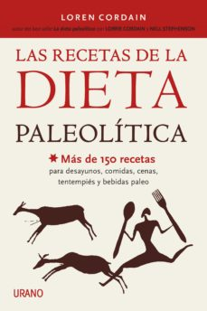 las recetas de la dieta paleolítica (ebook)-loren cordain-9788499447421