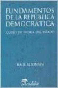 Eldeportedealbacete.es Fundamentos De La Republica Democratica: Curso De Teoria Del Esta Do Image