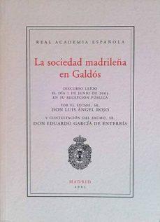 Permacultivo.es La Sociedad Madrileña En Galdós Image