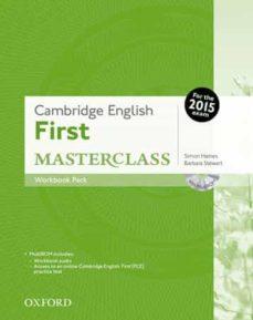 Los mejores libros gratis en pdf descargados CAMBRIDGE ENGLISH: FIRST MASTERCLASS WORKBOOK WITHOUT KEY de  9780194512831