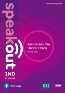 Descargar libro de google books gratis SPEAKOUT INTERMEDIATE PLUS 2ND EDITION STUDENTS  BOOK AND DVD-ROM PACK ED 2018  en español 9781292241531 de