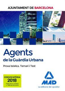 Titantitan.mx Agents De La Guardia Urbana De L Ajuntament De Barcelona: Prova Teorica Temari I Test Image