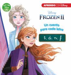 Inmaswan.es Frozen 2. Un Cuento Para Cada Letra: T/ D/ N/ F (Leo Con Disney - Nivel 1) Image