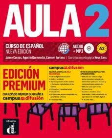Descargar libro electrónico para Android gratis AULA 2: LIBRO DEL ALUMNO + CD (A2) EDICION PREMIUM. CURSO DE ESPAÑOL (NUEVA EDICION)