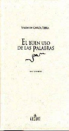 Ojpa.es El Buen Uso De Las Palabras (2ª Ed.) Image