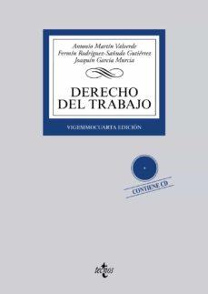 Geekmag.es Derecho Del Trabajo (24ª Ed.) (Contiene Cd) Image