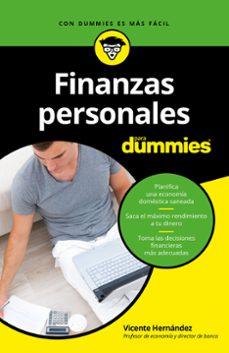 Descargar FINANZAS PERSONALES PARA DUMMIES gratis pdf - leer online