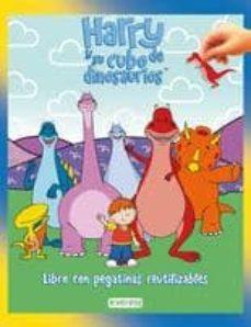 Curiouscongress.es Harry Y Su Cubo De Dinosaurios (Libro Con Pegatinas Reutilizables ) Image