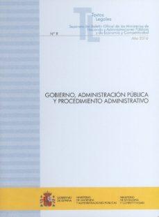 gobierno, administracion publica y procedimiento administrativo-9788447608331