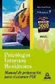 Titantitan.mx Manual De Preparacion Para El Examen Pir. Volumen Ii: Psicologos Internos Residentes Image