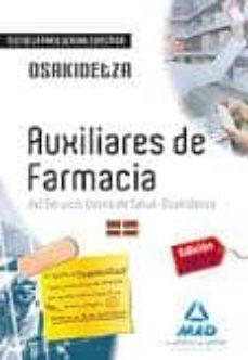 Inmaswan.es Auxiliares De Farmacia Del Servicio Vasco De Salud-osakidetza. Test De La Parte General Específica. Image