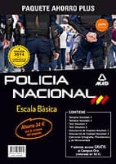 Javiercoterillo.es Paquete Ahorro Escala Basicapolicia Nacional Image