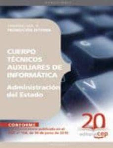 Valentifaineros20015.es Cuerpo Tecnicos Auxiliares De Informatica De La Administracion De L Estado Promocion Interna. Temario Vol. Ii. Image