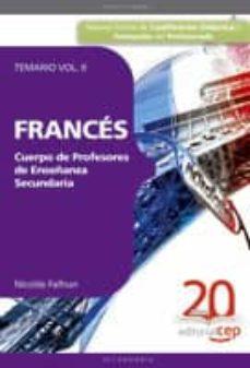 Ironbikepuglia.it Cuerpo De Profesores De Enseñanza Secundaria. Frances. Temario Vo L.ii Image